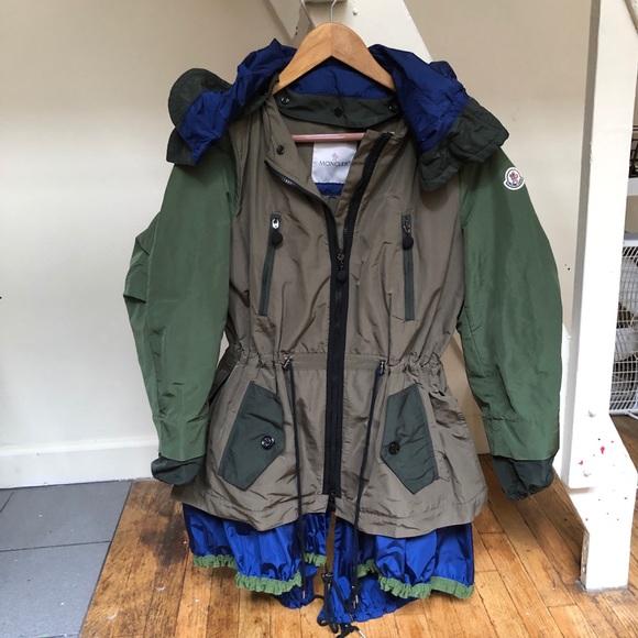 Moncler Jackets & Blazers - ⛔️Sold⛔️Moncler green khaki jacket